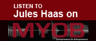 Listen to Jules Haas on MYOB